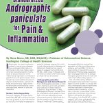 Andrographis for pain and inflammation